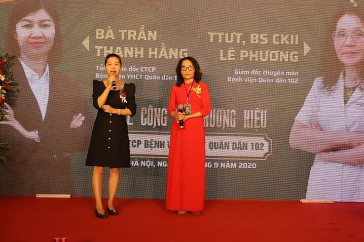 Bà Trần Thanh Hằng phát biểu về mục tiêu, sứ mệnh trong tương lai của Bệnh viện