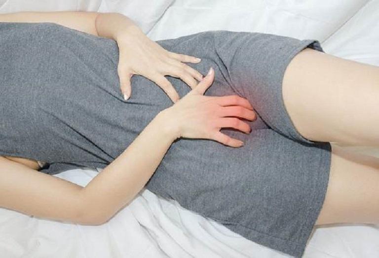 Cảm giác đau bụng dưới mỗi lần hành kinh khi bị bệnh