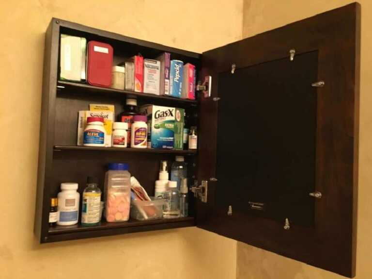 Để sản phẩm trong tủ thuốc gia đình, tránh xa tầm với của trẻ nhỏ