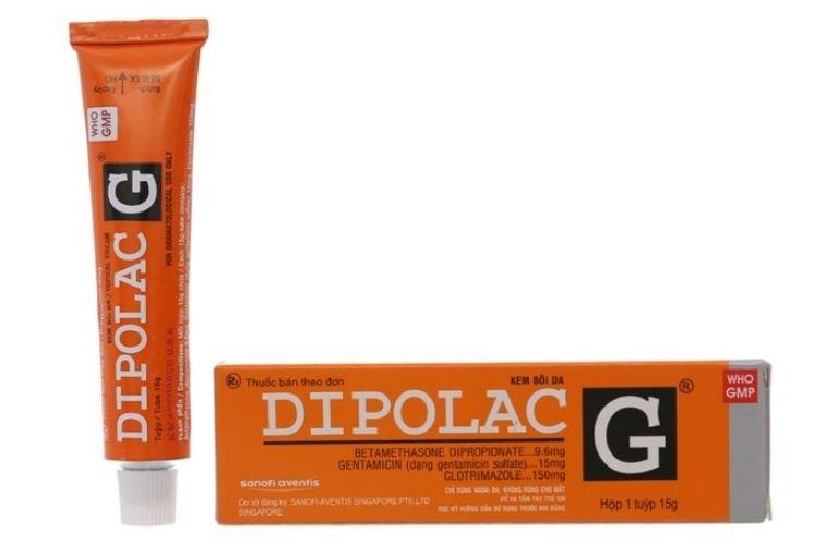 Thuốc trị viêm da cơ địa Dipolac G