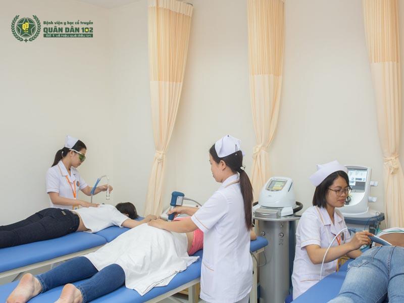 Vật lý trị liệu tại Bệnh viện 102