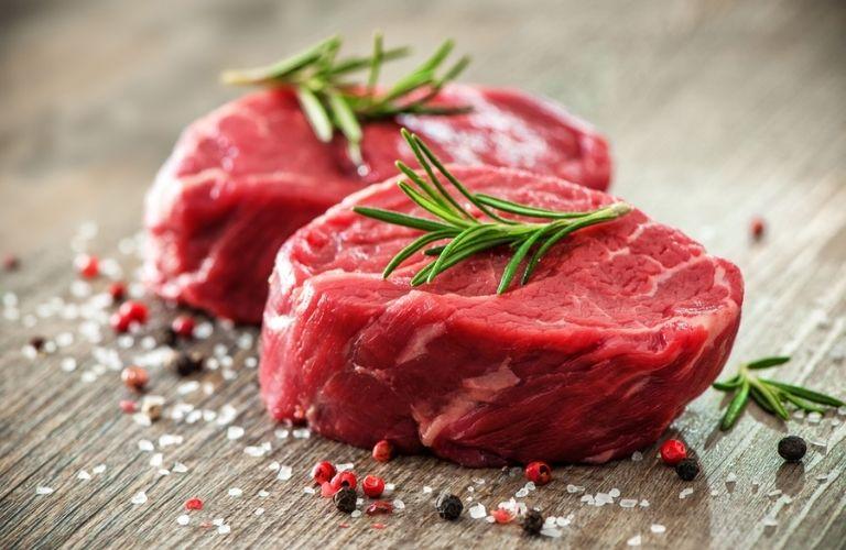 Thịt đỏ không tốt cho bệnh nhân viêm da nói chung