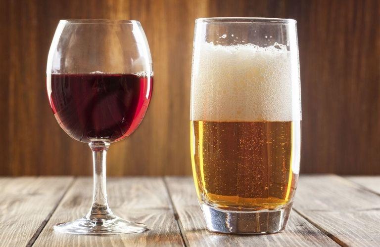 Rượu bia không tốt cho hệ đào thải độc tố