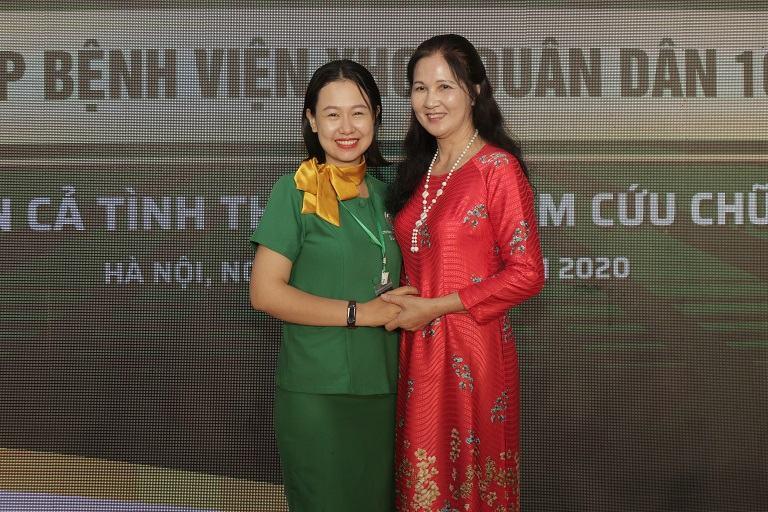 Nghệ sĩ Thanh Hiền tại buổi lễ