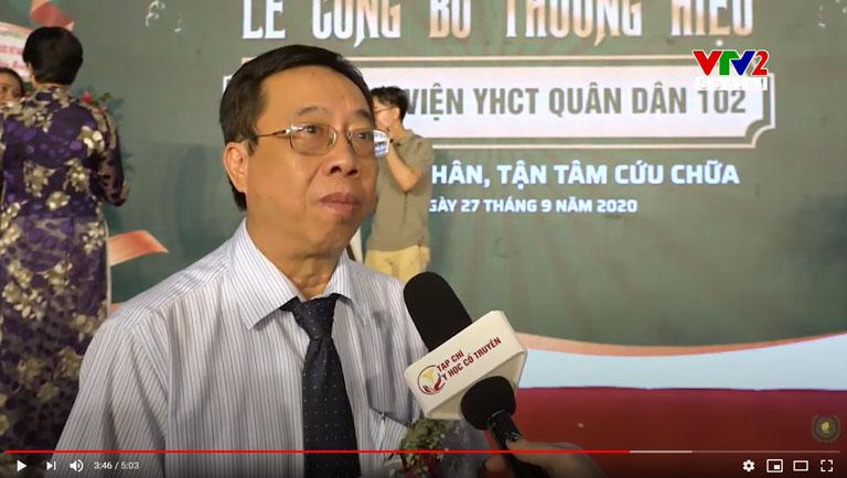 BS Lê Hữu Tuấn nhận xét về hướng điều trị bằng Đông y có biện chứng của CTCP Bệnh viện 102