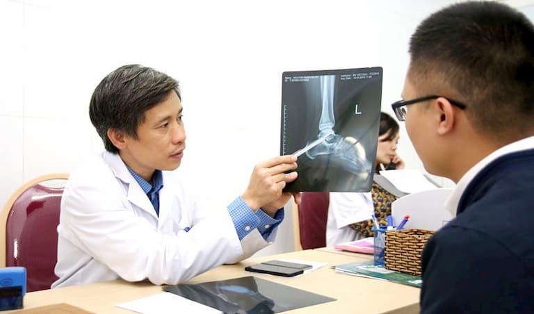 Bác sĩ cơ xương khớp giỏi Nguyễn Mạnh Khánh