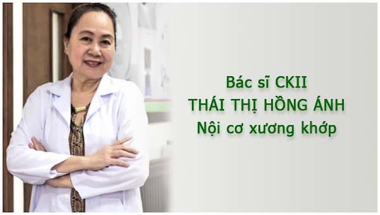 Bác sĩ Thái Thị Hồng Ánh có trình độ chuyên môn cao
