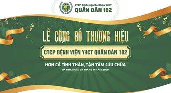 Khai trương CTCP Bệnh viện Đa khoa YHCT Quân dân 102