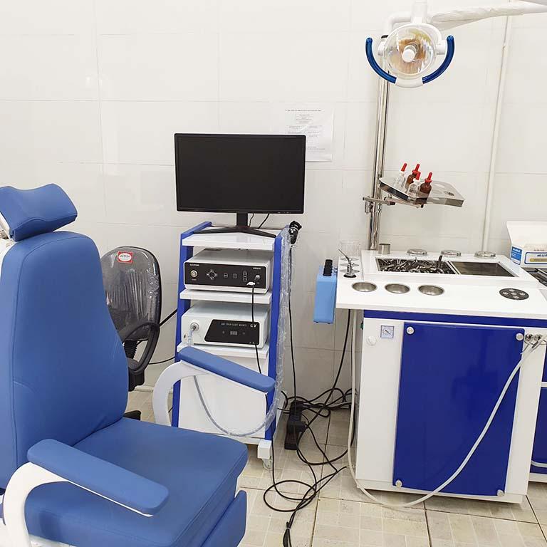 Đầu tư cơ sở vật chất, trang thiết bị máy móc hiện đại đáp ứng trong thăm khám cho người bệnh