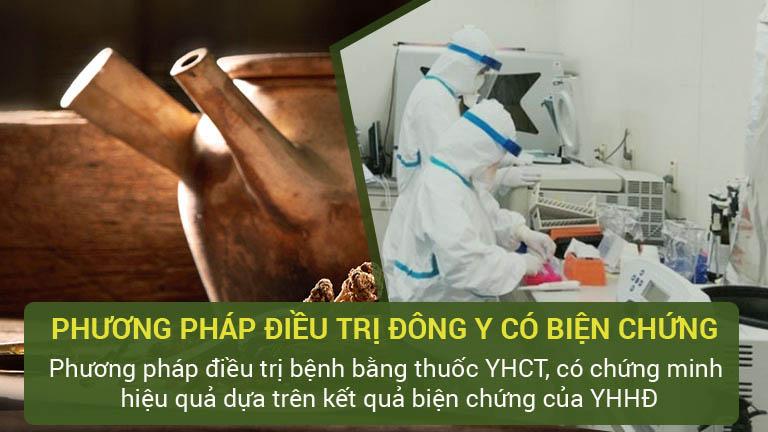 CTCP Bệnh viện Quân dân 102 điều trị bằng Phương pháp Đông y có biện chứng