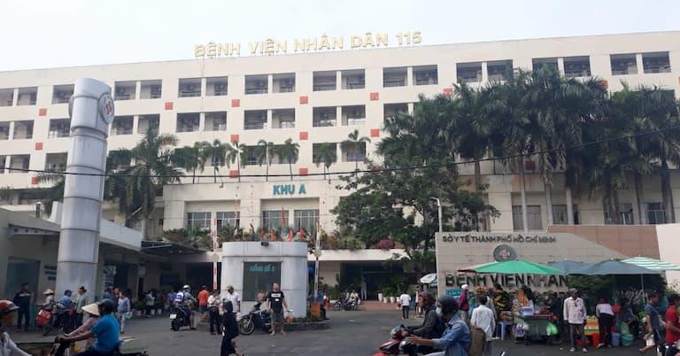 Bệnh viện Nhân dân 115 với đội ngũ y bác sĩ giàu kinh nghiệm và trình độ chuyên môn cao