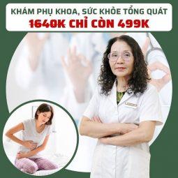 Gói khám phụ khoa, sức khỏe tổng quát được ưu đãi hấp dẫn từ CTCP Bệnh viện YHCT Quân dân 102