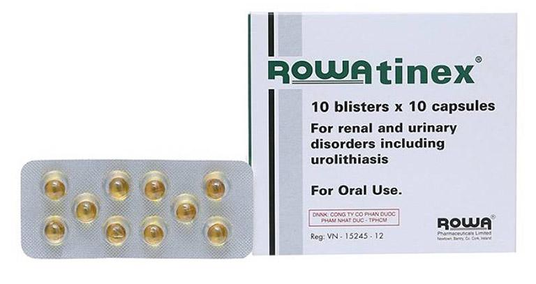 Thuốc sỏi thận Rowatinex điều trị hiệu quả