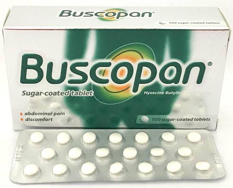 Thuốc dạng viên Buscopan