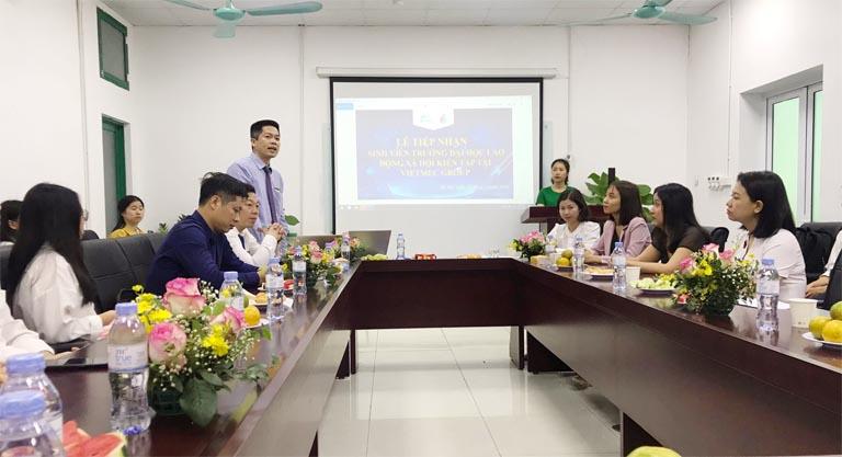 Ông Nguyễn Quang Hưng phát biểu tại sự kiện