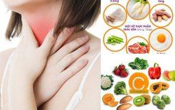 Đau họng nên ăn gì và không nên ăn gì để nhanh khỏi bệnh?