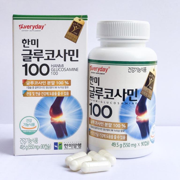 Hanmi Glucosamine 100 thuốc xương khớp Hàn Quốc