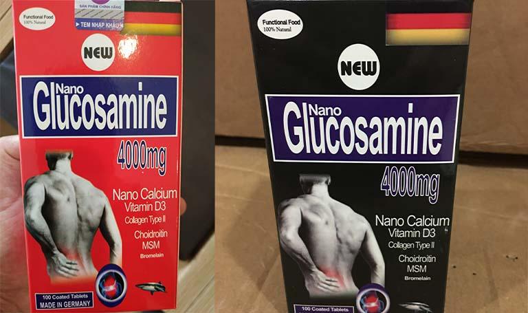 Thuốc trị viêm đa khớp Nano Glucosamine 4000mg