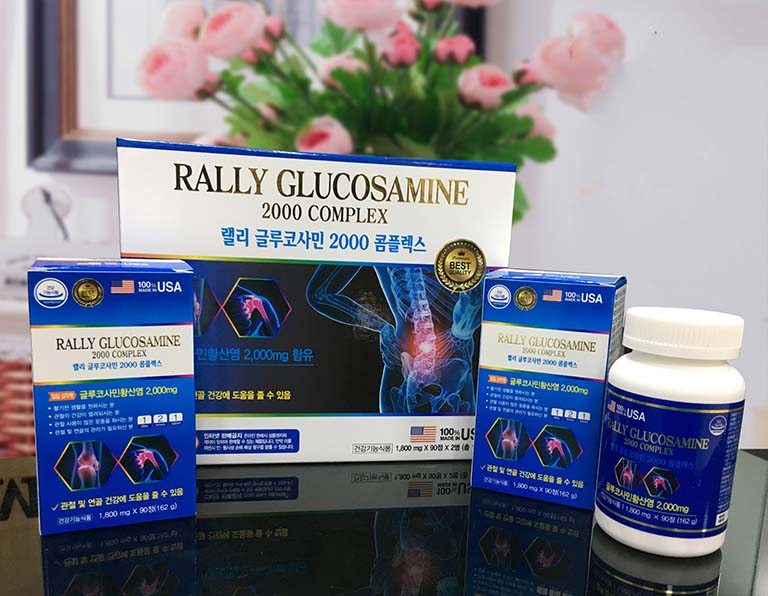 Thuốc đau khớp Hàn Quốc Rally Glucosamine 2000 Complex