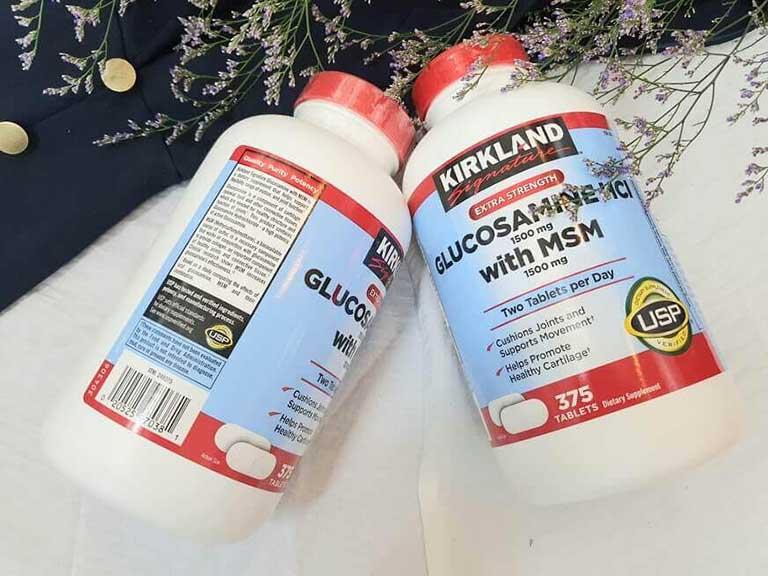 Thuốc viêm khớp của mỹ Glucosamine HCl 1500mg Kirkland