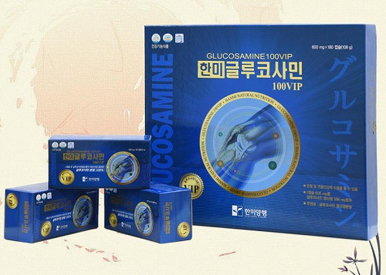 Viên uống xương khớp Hàn Quốc Hanmi Glucosamine Gold Hàn Quốc