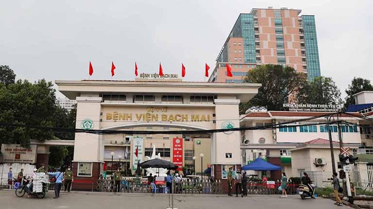 Bệnh viện Bạch Mai là địa chỉ cắt amidan uy tín