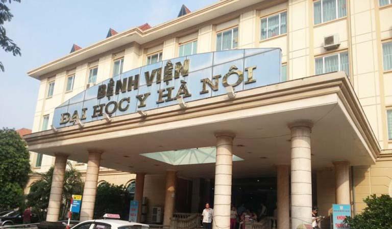 Bệnh viện Đại học Y Hà Nội sở hữu hệ thống trang thiết bị hiện đại