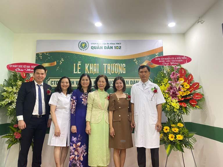 Khai trương PK Chuyên khoa YHCT Quân dân 102 Hồ Chí Minh