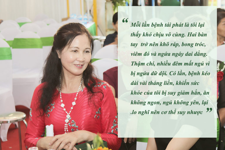 Căn bệnh viêm da từng khiến NSƯT Thanh Hiền mất ăn, mất ngủ, cơ thể suy nhược