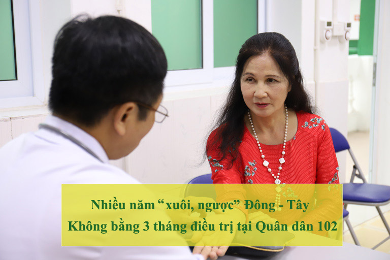 Đó là lời khẳng định của NSƯT Thanh Hiền về khoảng thời gian điều trị bệnh viêm da
