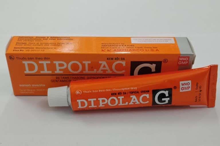 Dipolac G thuốc chữa viêm da dạng bôi an toàn