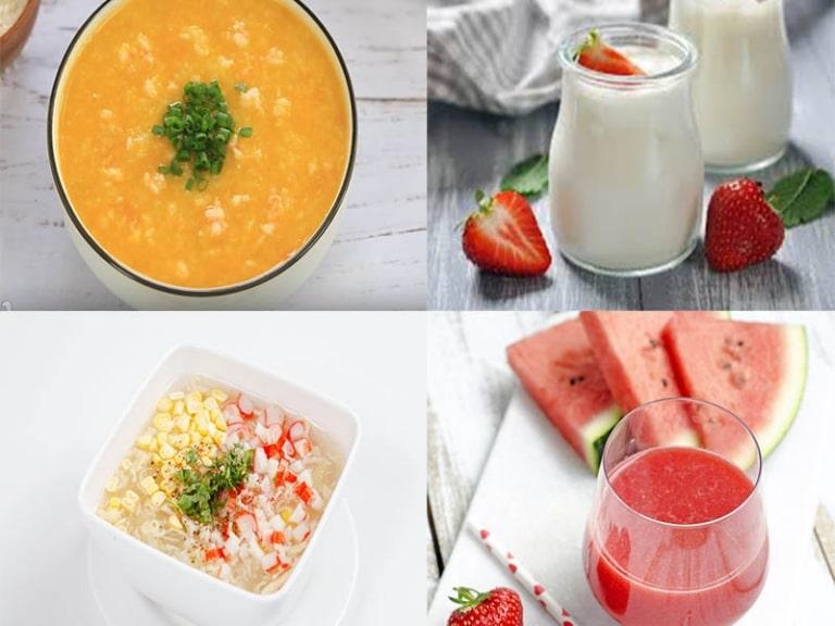Chế độ ăn uống cho người bị viêm amidan gây sốt rất quan trọng