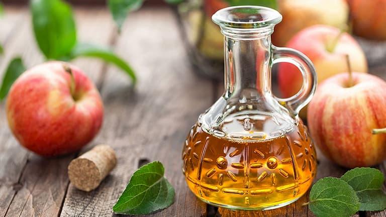 Giấm táo giúp kháng khuẩn, kháng viêm hiệu quả