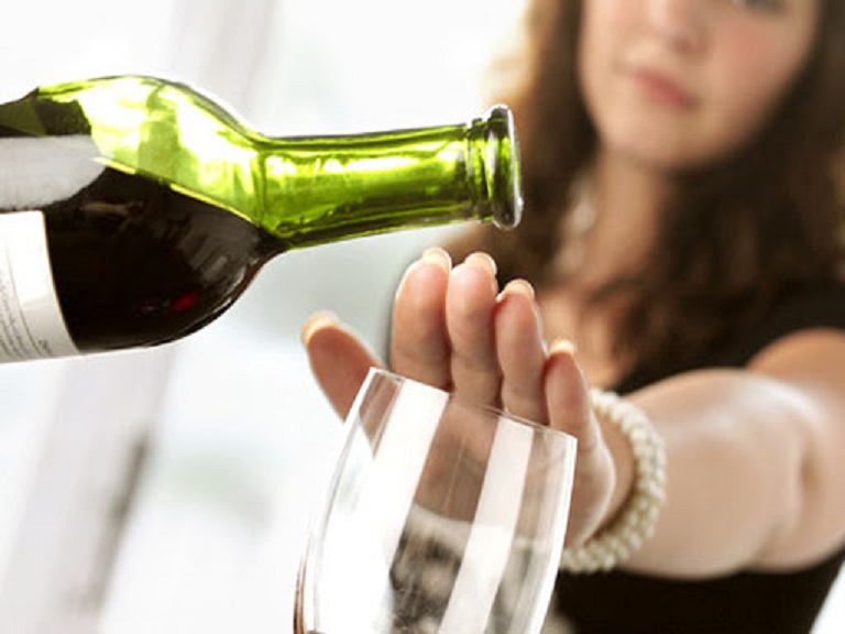 Không sử dụng đồ uống có cồn