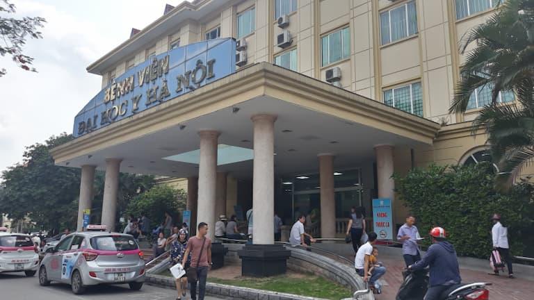 Bệnh viện Đại học Y Hà Nội có nhiều bác sĩ chữa viêm khớp cùng chậu giỏi