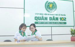 Bệnh viện Quân dân 102 là địa chỉ uy tín được nhiều người bệnh lựa chọn