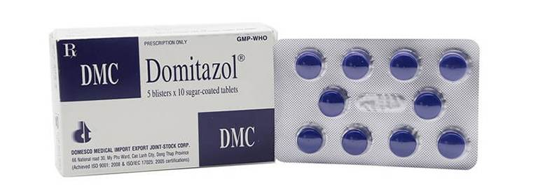 Thuốc Domitazol được dùng phổ biến
