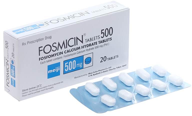 Viêm đường tiết niệu ở nữ uống thuốc gì? Chọn Fosfomycin