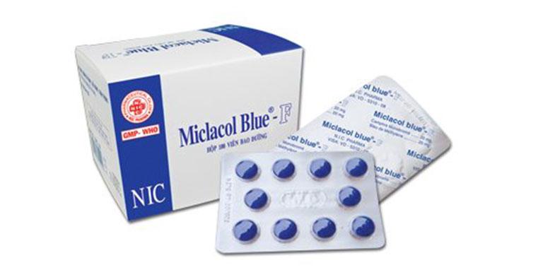 MictasolBleu thường được dùng kết hợp chung với một số loại kháng sinh