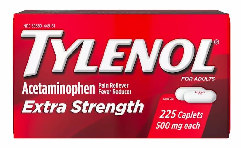 Người bệnh có thể dùng acetaminophen để giảm cảm giác khó chịu