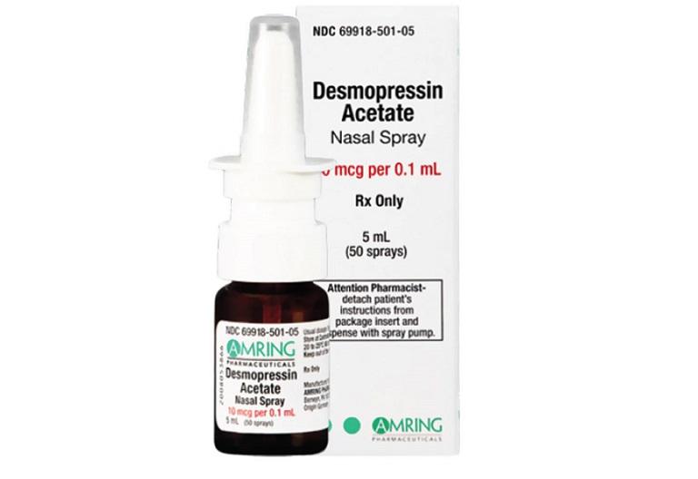 Desmopressin giúp kiểm soát lượng nước tiểu từ thận từ đó khắc phục chứng tiểu đêmDesmopressin giúp kiểm soát lượng nước tiểu từ thận từ đó khắc phục chứng tiểu đêm