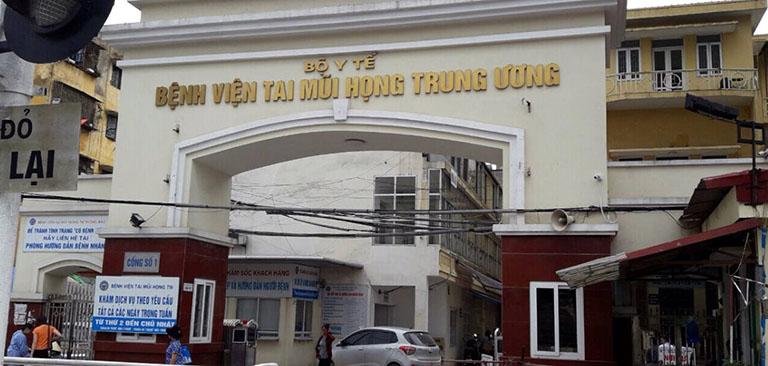 Bệnh viện Tai Mũi Họng TW cắt amidan chính xác, hiệu quả