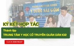 Ký kết hợp tác với Phòng khám Đa khoa Y dược Sài Gòn