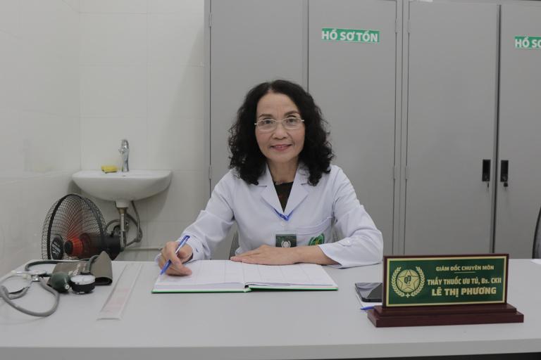 Bác sĩ Lê Phương - Giám đốc chuyên môn Tổ hợp Y tế Cổ truyền Biện chứng Quân dân 102