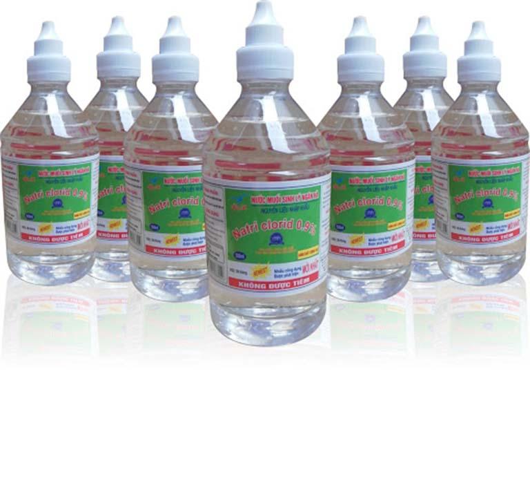 Nước muối sinh lý chữa viêm amidan tại nhà cho trẻ
