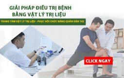 Giải pháp điều trị vật lý trị liệu phục hồi chức năng Quân Dân 102