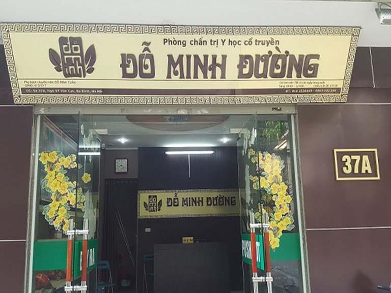 Nhà thuốc Đỗ Minh Đường chữa bệnh bằng Đông y