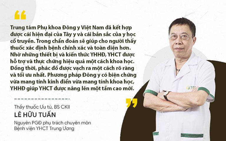 Thầy thuốc Lê Hữu Tuấn đánh giá cao phương pháp Đông y có biện chứng