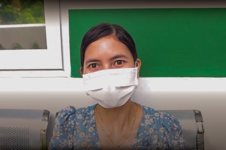 Chị Nguyến Thị Bình - bệnh nhân điều trị tại Trung tâm Phụ Khoa Đông y Việt Nam chia sẻ