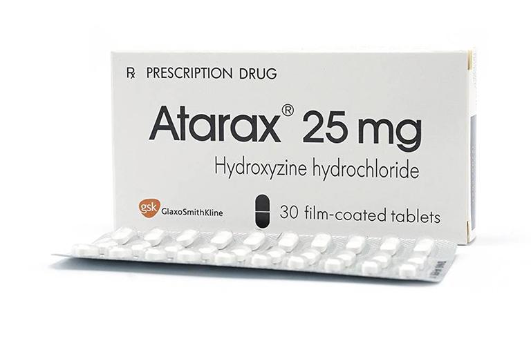 Thuốc trị mẩn ngứa khắp người Hydroxyzine